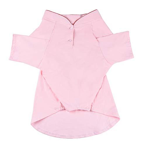 YUNNARL Dog T Shirt Puppy Dog Cat Pet Clothes Soft Breathable Cotton Pet Shirt Outfit Apparel Dog Shirt Cute Girl Dog…