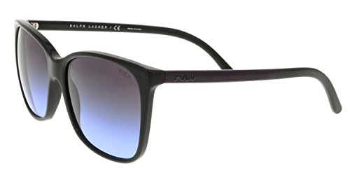 Polo Ralph Lauren Women's 0PH4094 Rectangular Sunglasses, Black Gradient,Violet,Black & Violet, 55 - Lauren Ralph Shades