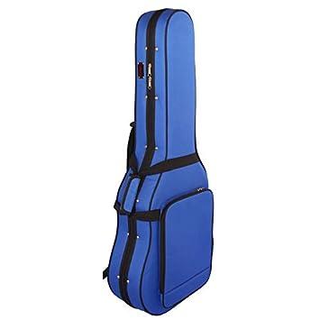 Estuche Guitarra Clásica Superior, Foam, Color Azul: Amazon ...