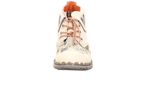 TMA - Botas Mujer Blanco / Beige