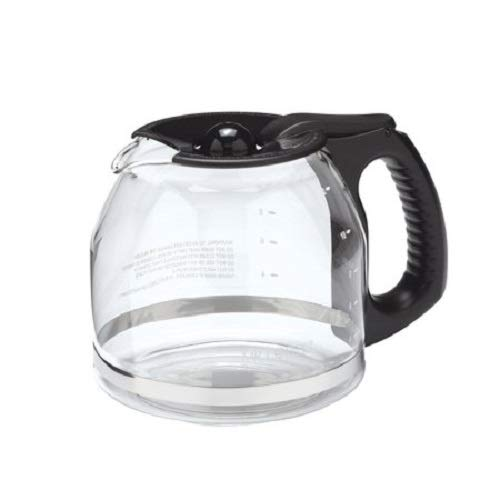 Mr. Coffee PLD12-2 MR. COFFEE 12-Cup Replacement Decanter (Black Mr Decanter Replacement Coffee)
