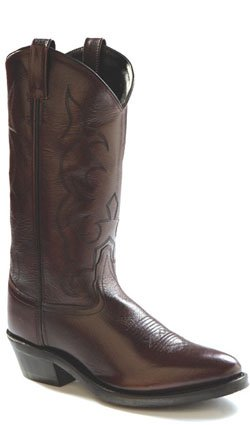 Old West Boots Men's TBM3013 Black Cherry 10.5 EE US