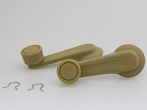 New Pair Beige Window Winder Crank Door Handles Fit NISSAN DATSUN 720 TRUCK UTE SUNNY B310 1977-1986
