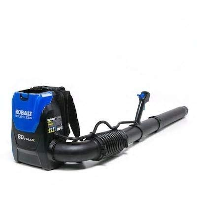 Kobalts 80-Volt Max Lithium Ion 580-CFM Brushless Cordless Electric Leaf Blower (No Battery or Charger, Blower Only)