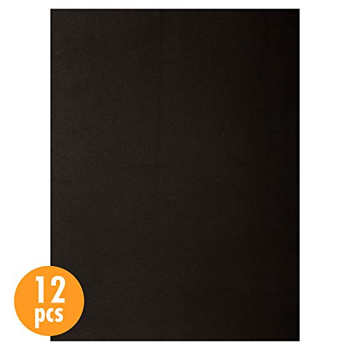 (CTG, EVA sheet, 9 x 12 inches, Black, 12 Pieces)
