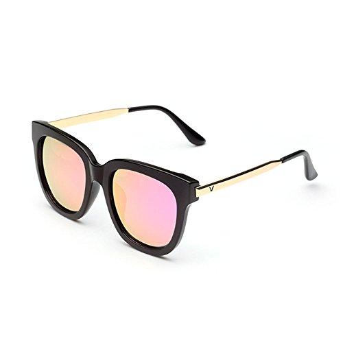 Hombres Color Gafas Retro conducen la Sol Gafas de de Sol de Que Cara DT de 4 Polarizer los Redondas wZBTdtTq