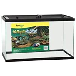 Tetra Usa STS26919 Reptile Enclosure, 10-Gallon