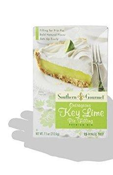 Southern Gourmet Outrageous Key Lime Pie Filling Premium Mix, 3 (THREE) 7.5oz Boxes