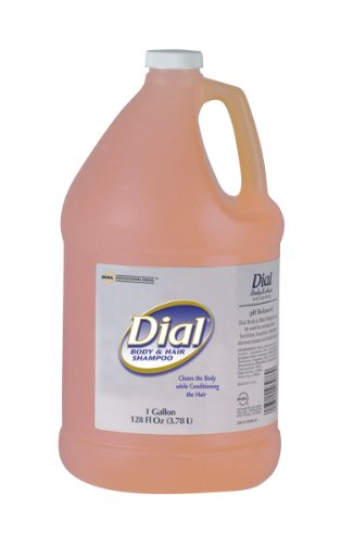 dial-professional-03986-dial-body-hair-shampoo-include-1-pump-1-gallon-case-of-4