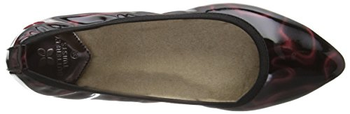 Butterfly Twists Women's Janey Ballet Flats Red (Berry Cosmos Patent) 6LVuw