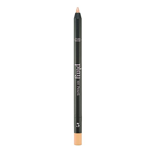 ETUDE HOUSE Play 101 Pencil 0.5g #5 BE102 - Vivid Color Gel Eyeliner, Rich Pigmented Colors with Single Touch