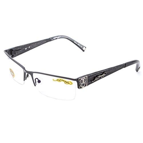 Ed Hardy EHO-721 Tiger Men's Eyeglasses Frame - ()