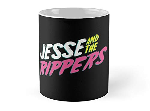 Hued Mia Mug Jesse and the Rippers - 11oz Mug - Features wraparound prints - Dishwasher safe - Made from Ceramic - Best gift for family friends