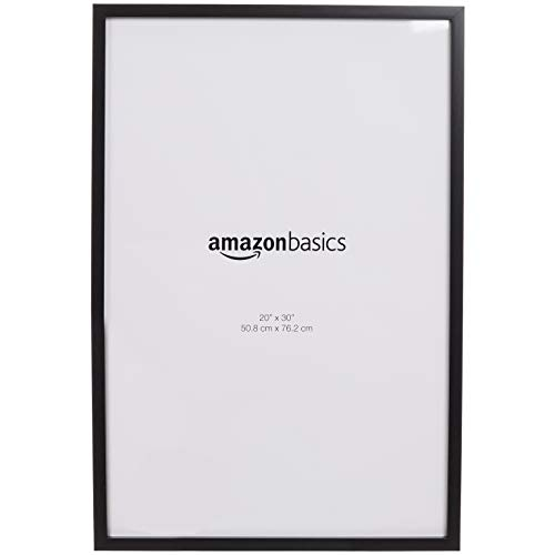 AmazonBasics Photo Picture Frames - 20 x 30 Inches, 2-Pack, Black