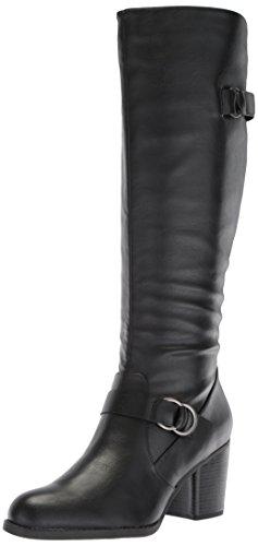High Boot SOUL Black Trish Knee Women's NATURAL aCOqC