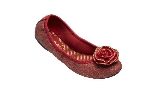 Lindsay Phillips Liz Red Canvas Size 7.5 SwitchFlop Women...