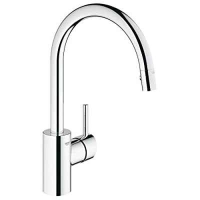 Grohe 32665001 Concetto Single Handle Pull-Down Spray Kitchen Faucet by Grohe