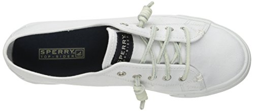 Sperry Top-sider Donna Seacoast Core Bianco Sandalo Pescatore Bianco