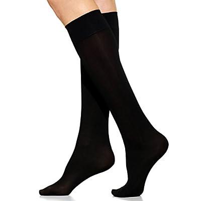 Berkshire 6424 Plus Size Opaque Trouser Socks- 6 Pairs