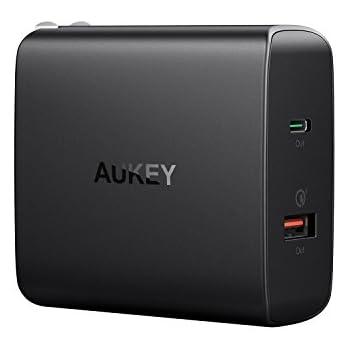 Amazon.com: Aukey USB C cargador con entrega de potencia 3.0 ...