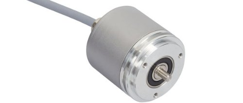 POSITAL IXARC OCD-S5C1B-0412-SB90-5AW SSI with Preset + Incremental RS422 Absolute Rotary Encoder by POSITAL