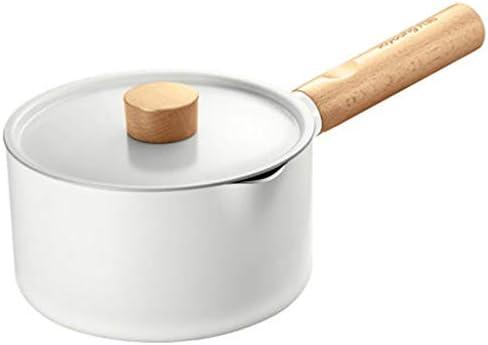 JJSFJH 多機能ミルクポット補完食品鍋ノンスティックポットのホームクッキングミルクポットインスタントラーメン鍋小鍋
