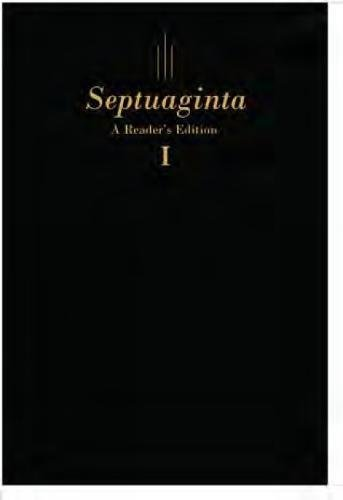 Septuaginta: A Reader's Edition Flexisof