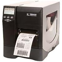 Zebra ZM400-2001-0000T model ZM400 Thermal Label Printer, Monochrome, 10 in/s Mono, 203 dpi, 16 MB Memory, USB, Serial, Parallel, 110V AC and 220V AC