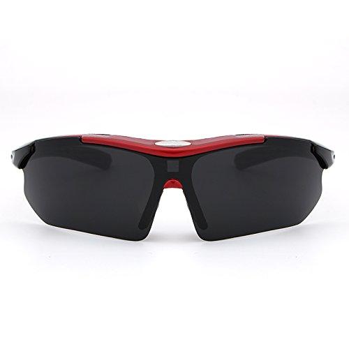 metal Aviador Ciclismo de de conducir Pesca del de los polarizadas Vintage Gafas para hombres clásicas voladoras Material UV400 Red sol protección Ruiyue Fpq6RZwn