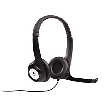 Logitech USB Headset H390 with Noise Cancelling Mic (Case of 16) 981-000014