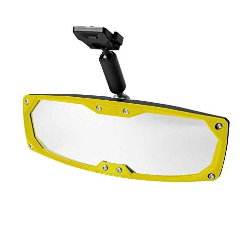 Seizmik UTV Rear View Mirror (Yellow) - 2016-2018 Can-Am Defender HD10 XT CAB -  Honda, NSRVM-136