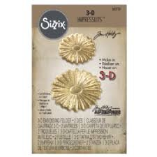 Sizzix (SIZC7) 662721 3-D Impresslits 3-D Embossing Folder, Gold by Sizzix (SIZC7)