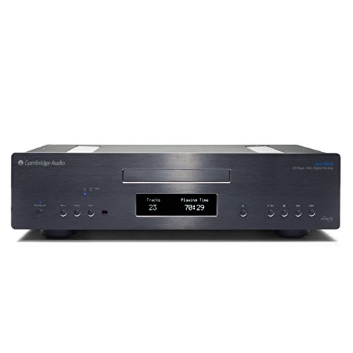 Cambridge Audio Azur 851C Upsampling DAC, CD Player & Preamplifier - Black