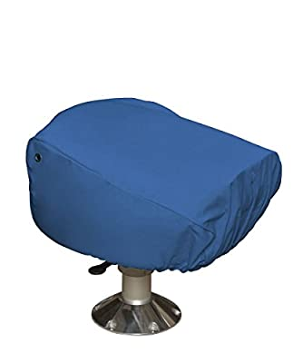 "Budge Single Boat Seat Cover Fits a Single Boat Seat 22"" Long x 19"" Wide x 21"" High, BA-10 (Blue)"