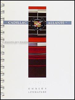 1990 cadillac allante original owner s manual cadillac amazon com rh amazon com Cadillac Allante Coupe campion allante owners manual