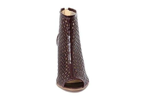 de de rojo GREGORI mujer GIANNI para burdeos Piel Zapatos vestir UOEqnvf