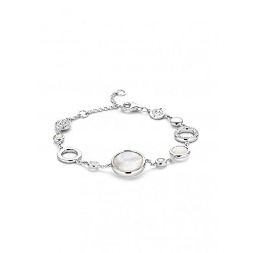 Bracelet Ti Sento Milano Femme 2847MW Argent Zirconia