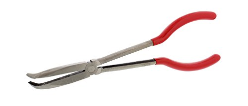 - ABN Long Reach 10in 90-Degree Bent Nose Pliers for Hard-to-Reach Narrow Spaces and Limited Clearance Areas