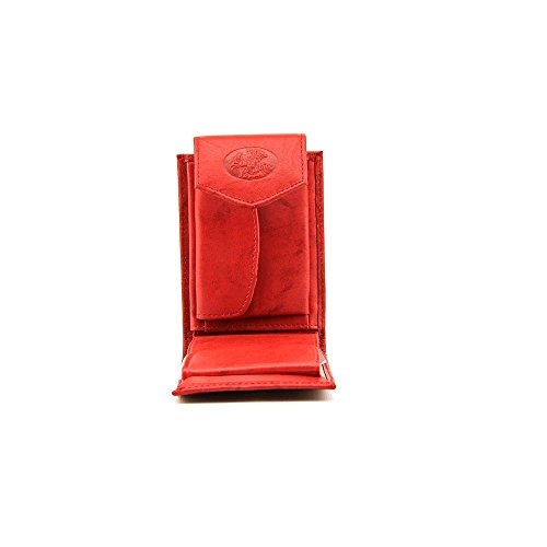 Red Buxton Billfold Heiress Convertible Wallet UnwHHqpa4