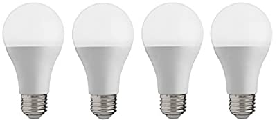 Soymet Energy 60W (9W) A19 Energy Star Dimmable 4 Pack