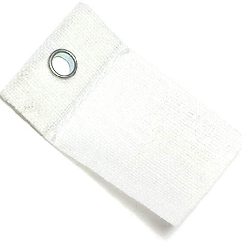 Hard-to-Find Fastener 014973155636 Adhesive Cloth Hangers, Eyelet, Piece-30