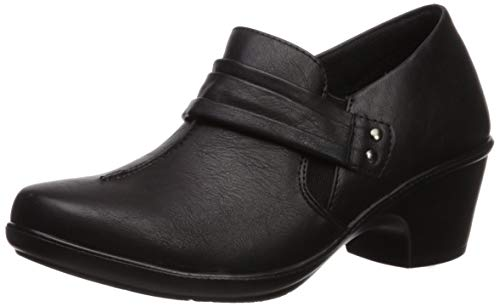 Easy Street Women's Graham Dress Casual Shootie Loafer, Black, 12 W US from Easy Street