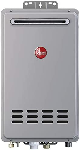 Rheem RTG-70XLP-1 Tankless Water Heater, Grey