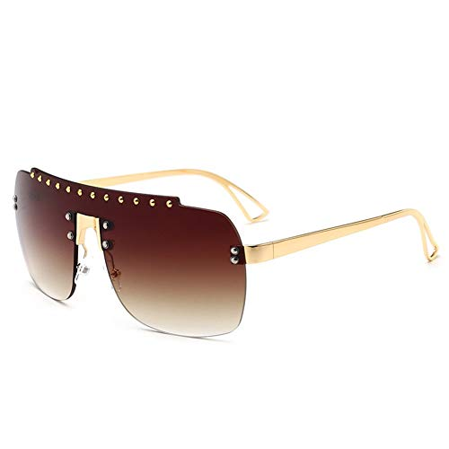 pieza gradiente americana sola tendencia y marco europea diamante sol una de Las la E de de sin forman NIFG del de sol del gafas gafas xZwfzCq1C