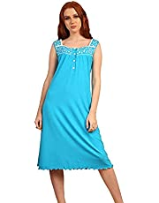 Zecotex Embroidered Cotton Nightgown