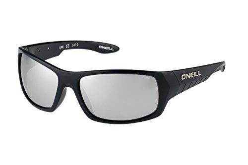 O'Neill Line 106 Wrap Sunglasses, Gloss Midnight Blue/Chrome Mirror, 62 mm