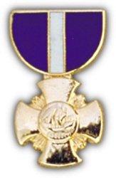 USN Cross Mini Medal Small Pin