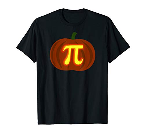 Funny Halloween and Thanksgiving Pumpkin Pi Math Shirt]()