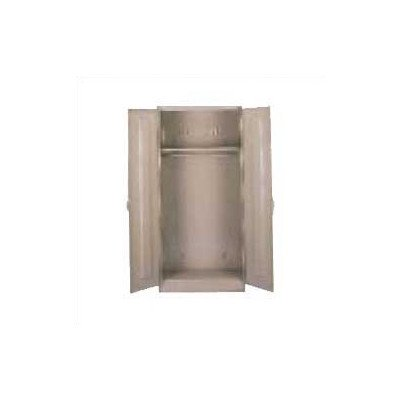 Deluxe 2 Door Storage Cabinet Color: Medium Grey, Doors: Standard