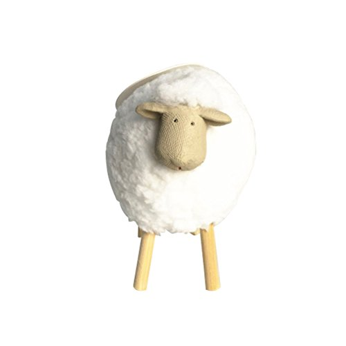 VORCOOL Mini Wooden Sheep Plush Decoration for Home and Salon Do It Yourself Bricks Sheep Tabletops or Bookshelves Decoration